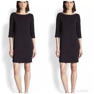 VINCE Elbow Sleeve Sheath Dress LBD